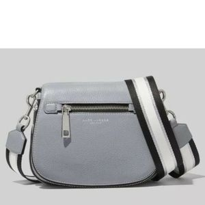 Marc Jacobs Gotham Nomad Leather Crossbody - Grey